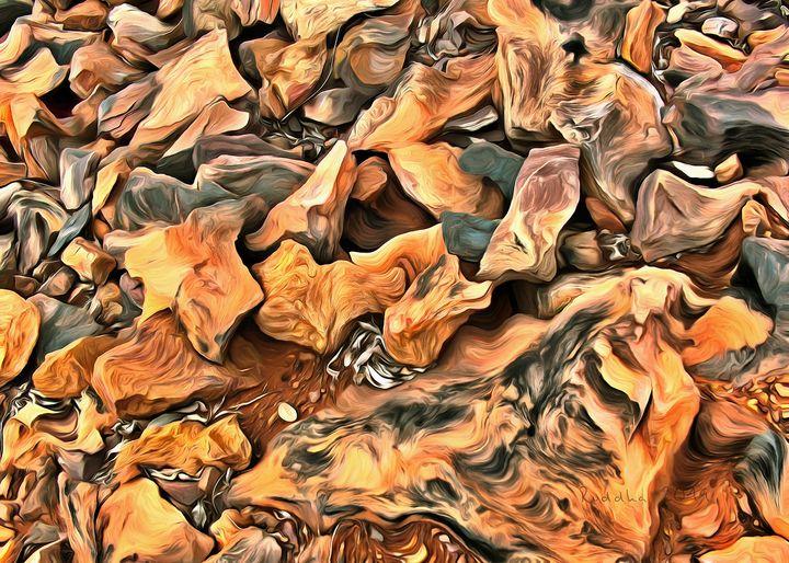 Orange Elementals - Ruddha