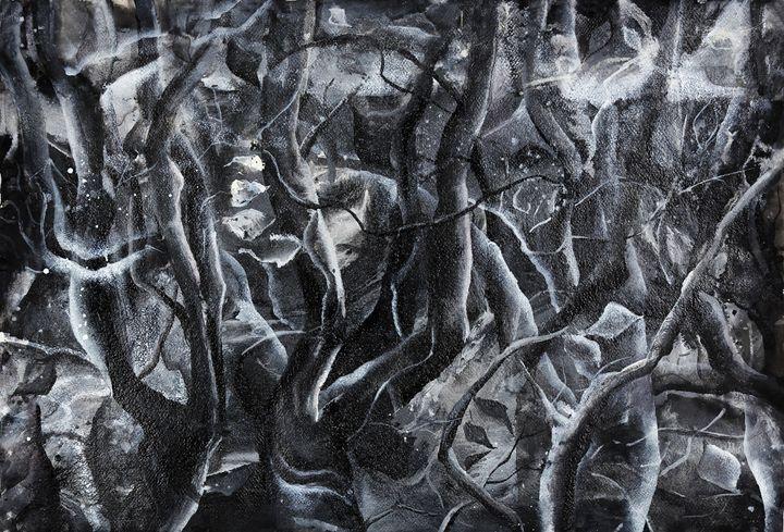 black&white forest - Morana Jugovic Mahamaya