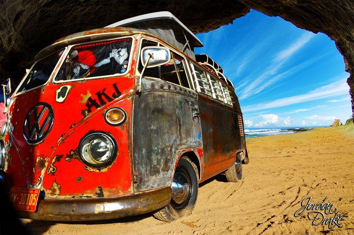 VW Bus Waycross GA Music Festival - Drake Concepts