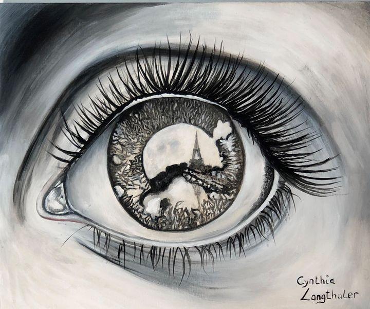 I love Paris - Cynthia Langthaler