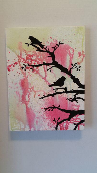 Splatter Painting - Pure Simplicity