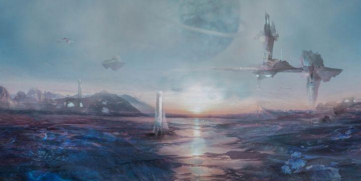 Fantasy landscape - Soma Delange