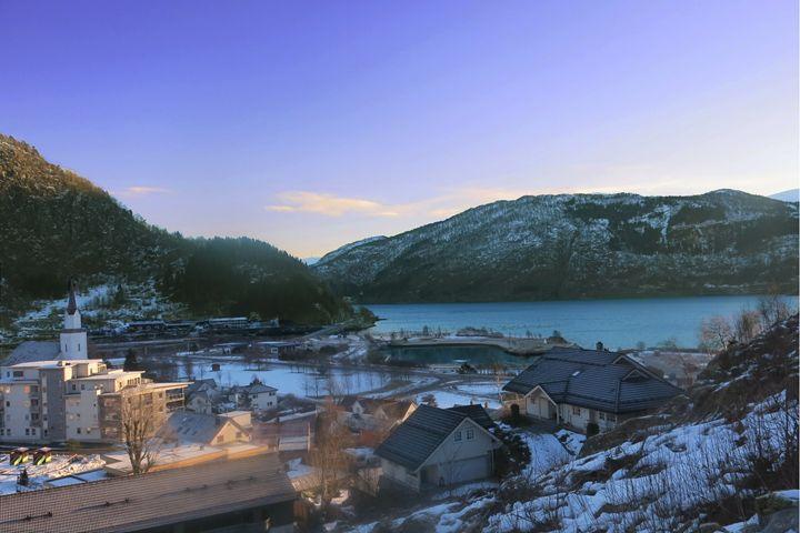 just a small town (fjord) - NBU ART