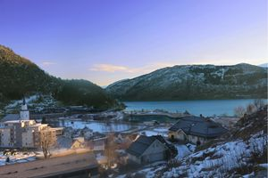 just a small town (fjord)