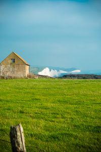 Rustic Farmhouse Overlooking Cliffs