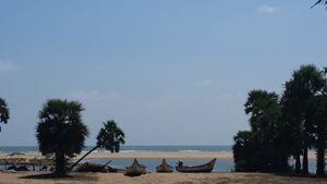 Beach of India