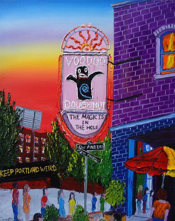 Voodoo Doughnuts #4 - Dunbar's Modern Art