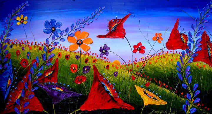 Field Of Wildflowers #10 - Dunbar's Modern Art