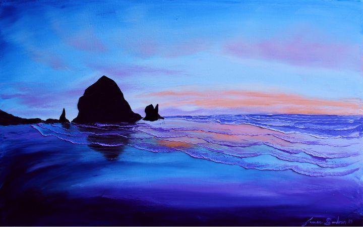 Cannon Beach At Sunset #37 - Dunbar's Modern Art