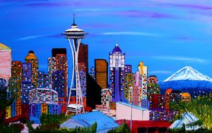 Seattle City Lights #6