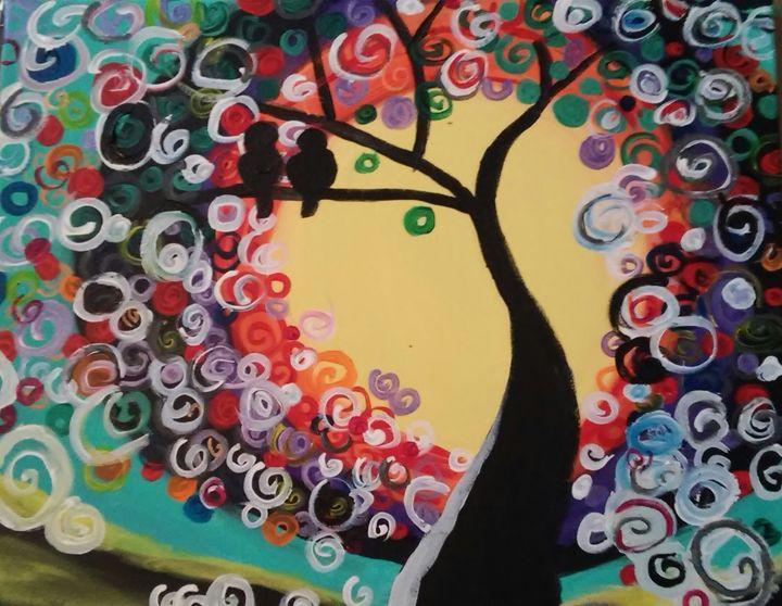 Mystical Night - Angie's Art