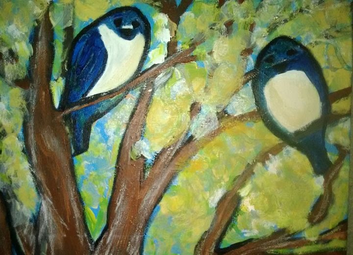 Birds of a feather - Angie's Art