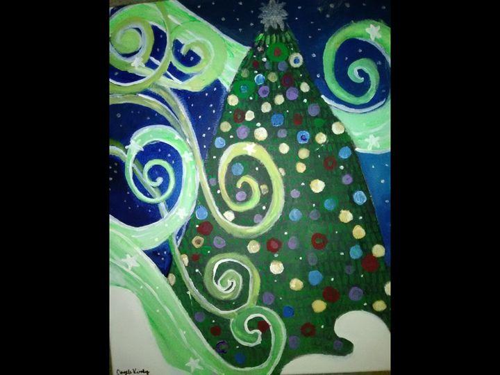 O Christmas tree - Angie's Art