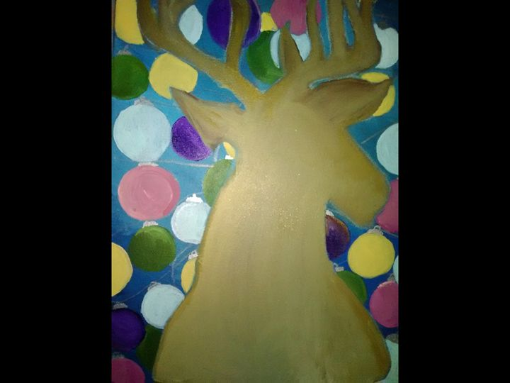 Looking upon Christmas delight - Angie's Art