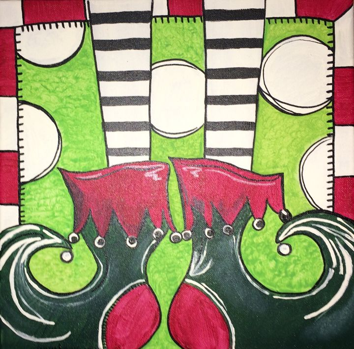 Elves feet - Angie's Art