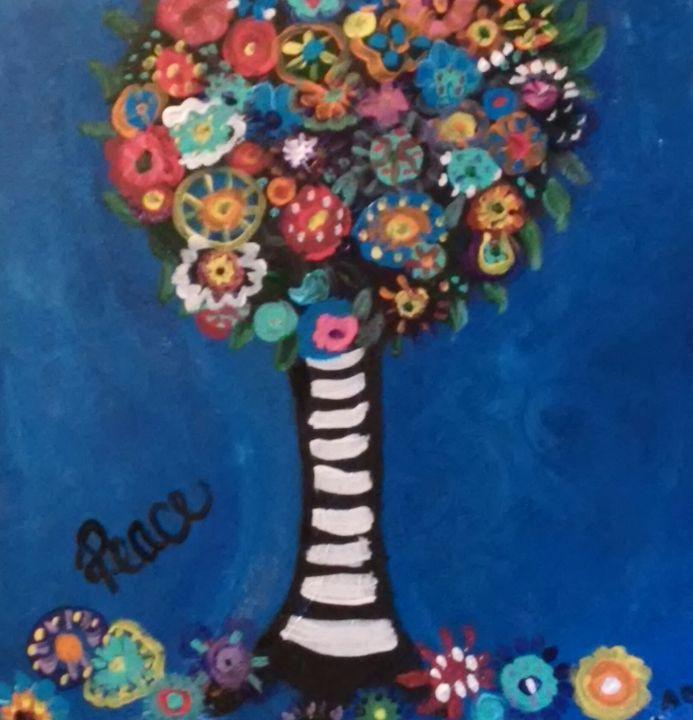 Peace Tree ..Make a wish - Angie's Art