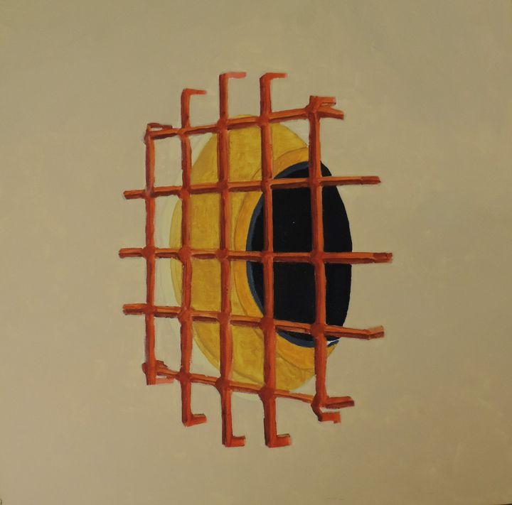 The grid above the window - ROUSSEAU  Jean daniel