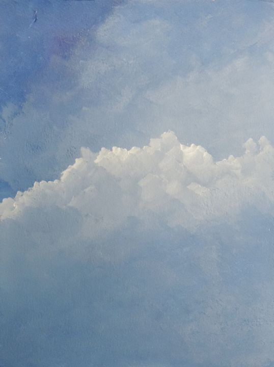 A simple cloud - ROUSSEAU  Jean daniel