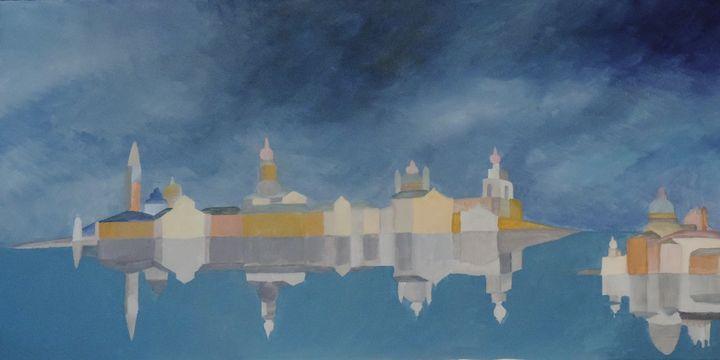 Venice backgrounds - ROUSSEAU  Jean daniel