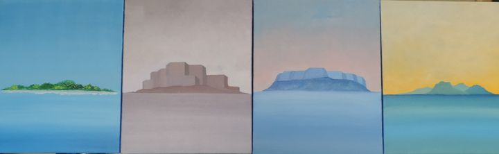 """Enigma of the landscape"", 2012 - ROUSSEAU  Jean daniel"