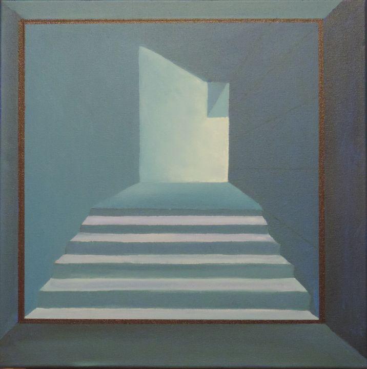 Stairs to light - ROUSSEAU  Jean daniel