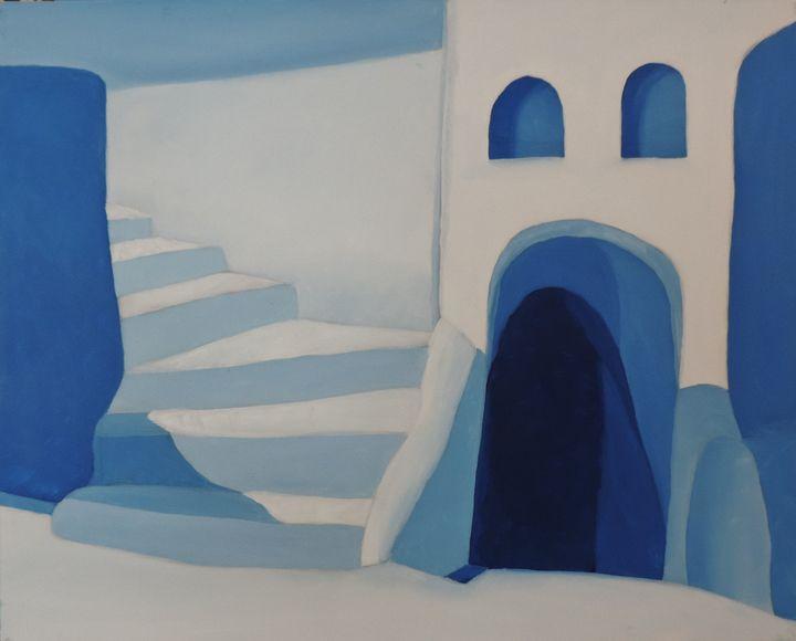 Blue Architecture 3 /4 - ROUSSEAU  Jean daniel