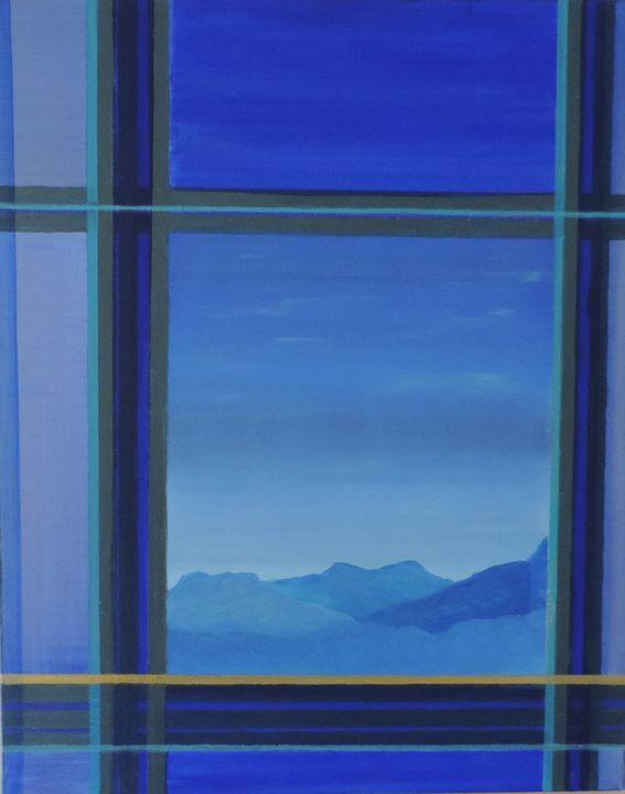 Composition blue - ROUSSEAU  Jean daniel
