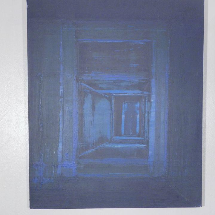 """""""La Porte étroite"""", The narrow door - ROUSSEAU  Jean daniel"""