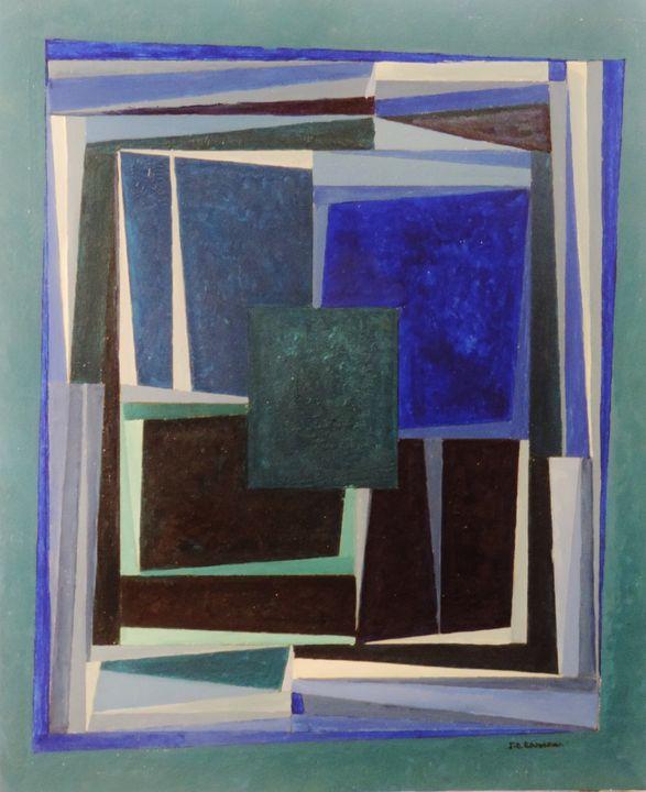 Fragments of the blue - ROUSSEAU  Jean daniel