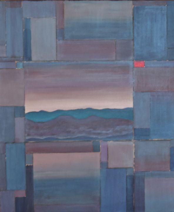 Landscape composition - ROUSSEAU  Jean daniel