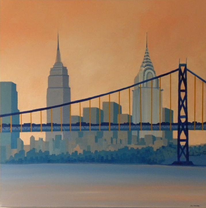 Manhattan is a peninsula, - ROUSSEAU  Jean daniel