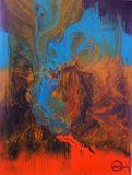 Abstract Art on 100% Natural Cork