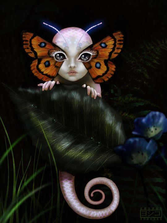 Butterfly Dragon - Serene Yoshiko