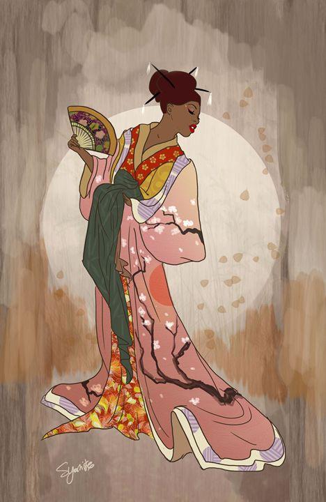 Dusk Kimono - Serene Yoshiko