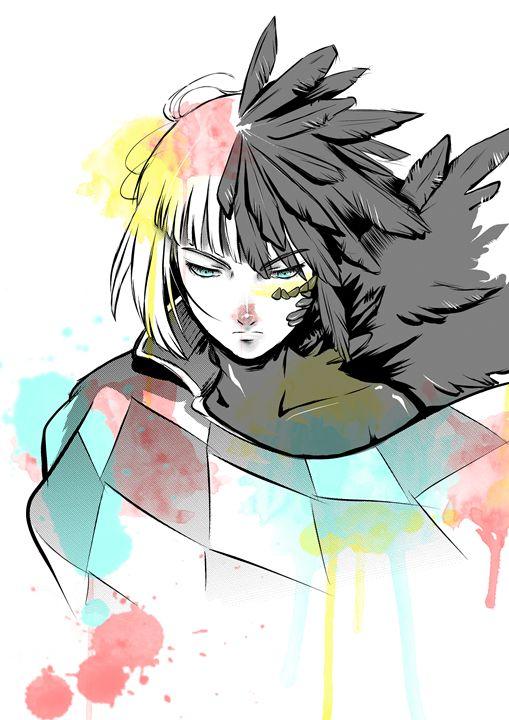 Howl Watercolor - PsychoDelicia