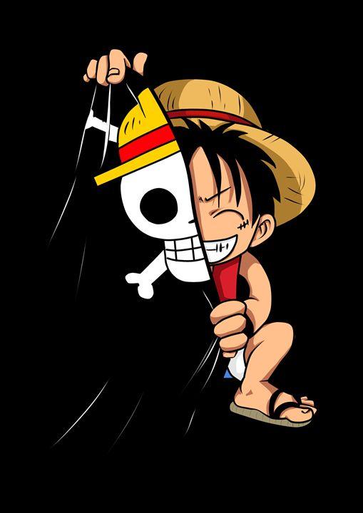 Chibi Luffy - PsychoDelicia