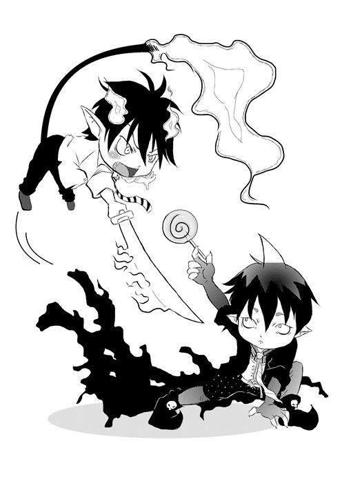 Rin vs Amaimon - PsychoDelicia