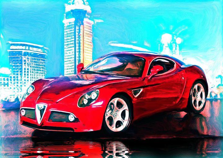 Alfa Romeo 8C Competizione - DeVerviers