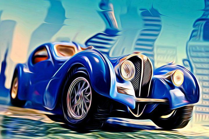 Bugatti Type 57 Atlantic - DeVerviers