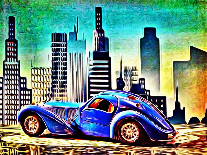 """Bugatti """"Atlantic"""" - DeVerviers"""