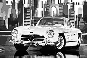 Gullwing - Mercedes 300 SL