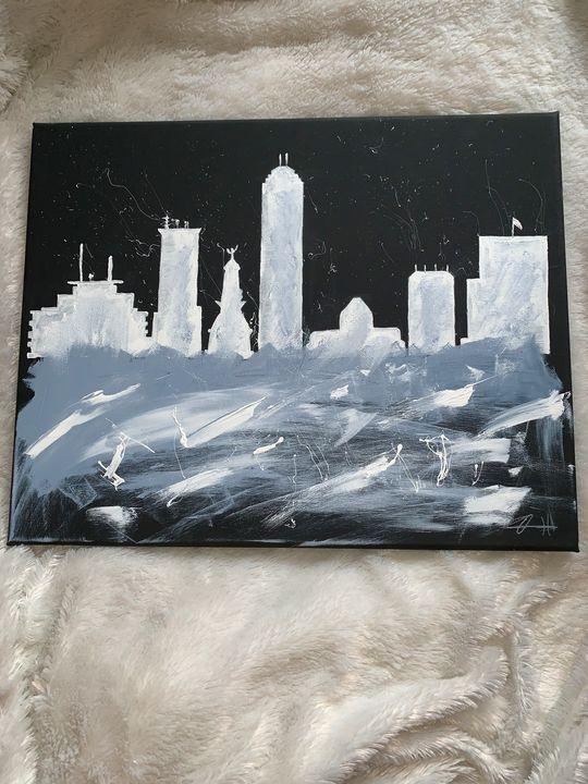 Downtown Indianapolis - Adam Art