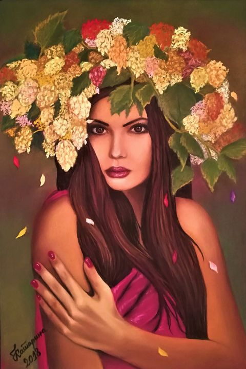 Flower girl - Katja