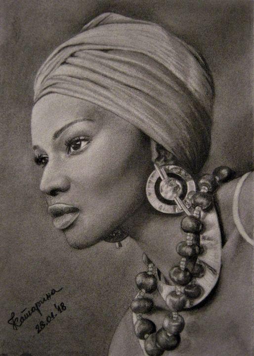 African woman - Katja