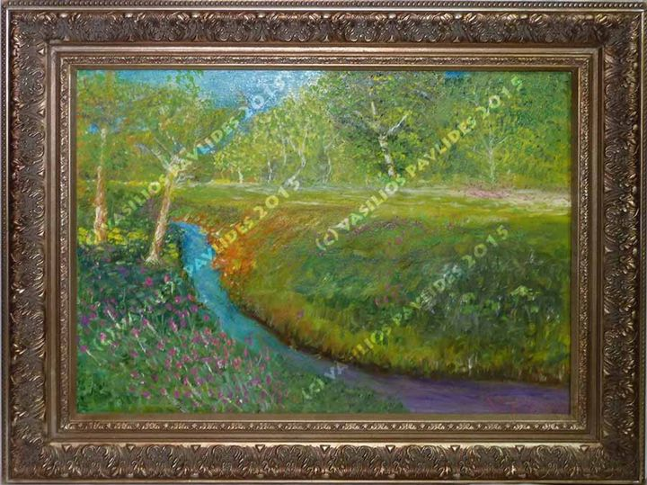 Appalachian Trail Meadow - Vasili's Art