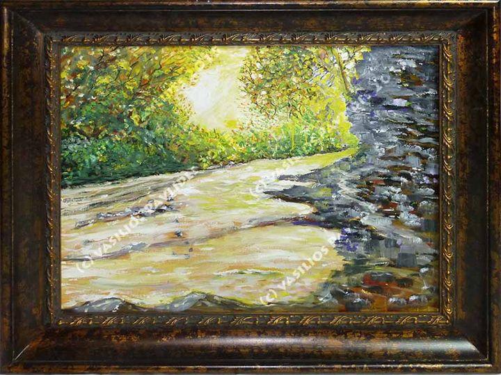 River on the Appalachian Trail - Vasili's Art
