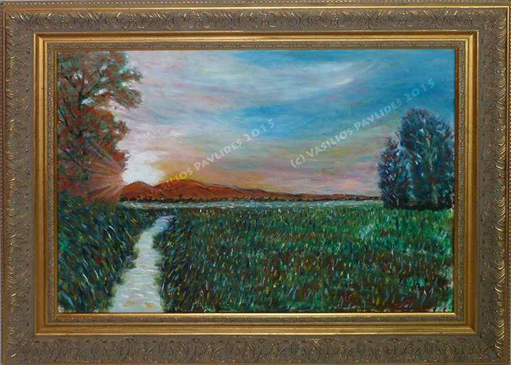 Marshes of North Carolina - Vasili's Art