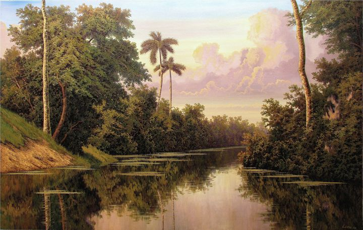 At the end of the river - Cuban Paintings