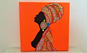 African Woman - BOM Art