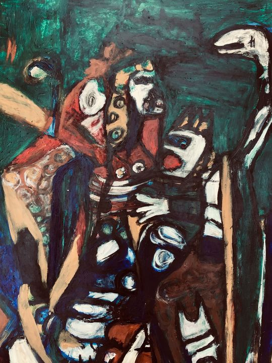Dance with the Madman. - Susanna Schulten
